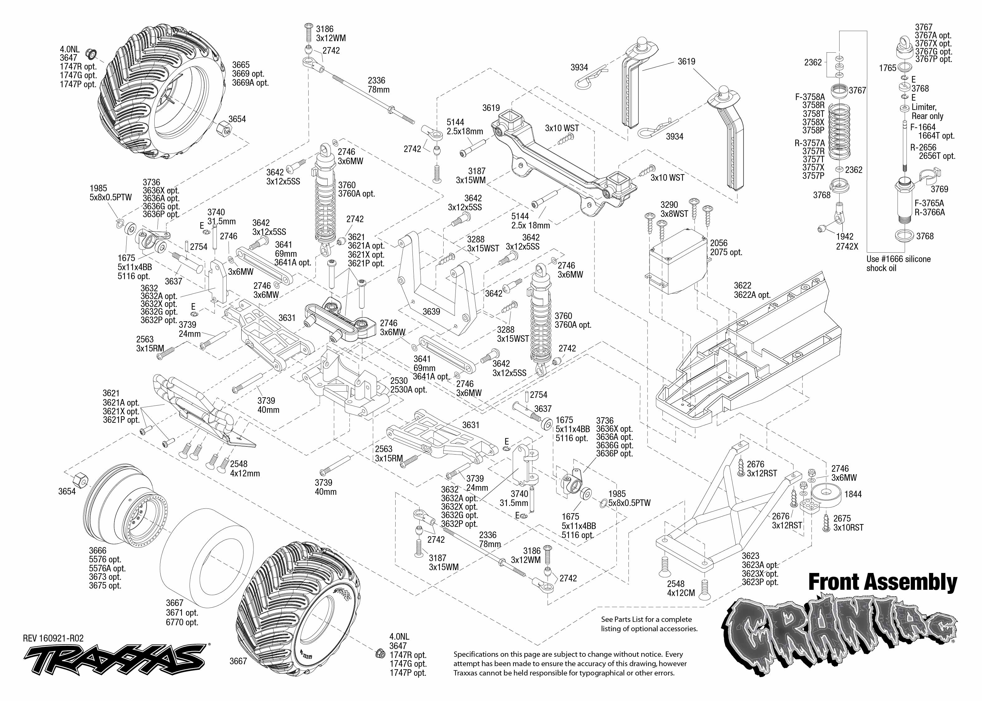 Traxxas Stampede Parts Diagram | Traxxas Teton Parts Diagram Trop Ddnss De