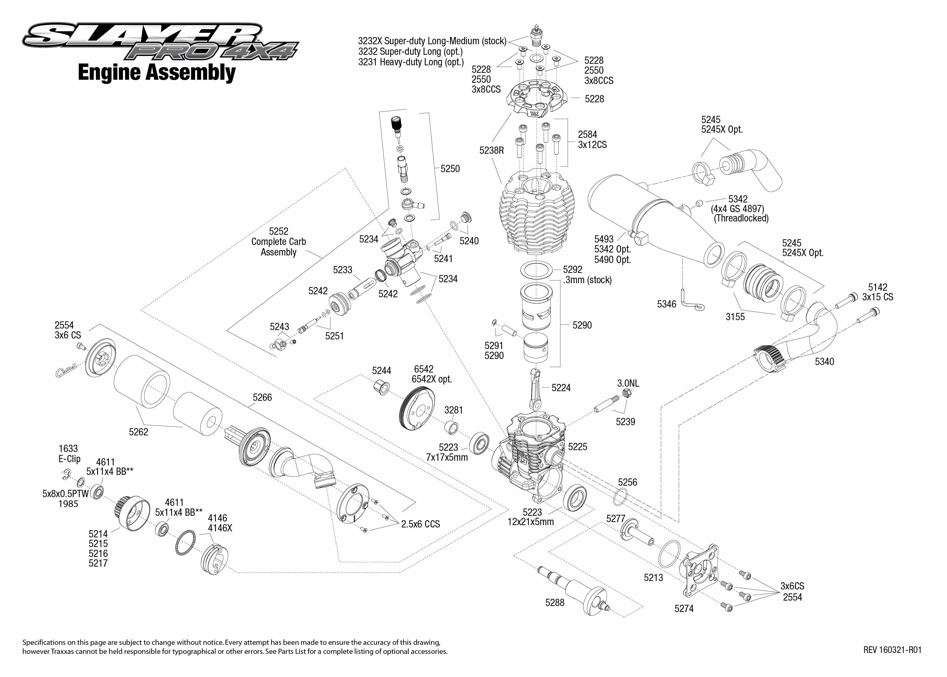 traxxas engine diagram traxxas slayer pro 4wd 3.3 1:10 rtr - tqi - tsm | eurorc.com traxxas wiring diagram
