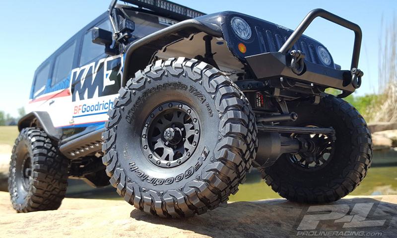 Off Road Tires For Trucks >> Pro Line Bfgoodrich Mud Terrain T A Km3 1 9 Rock Terrain Truck Tires 2