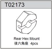 TeamC Rear Hex Mount - TM2