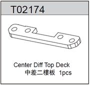TeamC Center Diff Top Deck - TM2