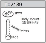 TeamC Body Mount - TM2