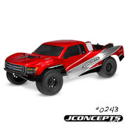"JConcepts Illuzion ""Ford F-250 Super Duty"" XLT SuperCab Short Course Truck Body (Clear)"