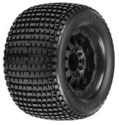 "Pro-Line Blockade 3.8"" tire on F-11 1/2"" Offset 17mm wheel (2)"