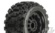 "Pro-Line Badlands MX28 2.8"" Traxxas Style Bead - All Terrain Tires Mounted (2) - Stampede 2WD F"