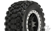 Pro-Line Badlands MX43 Pro-Loc All Terrain Tires Mounted - X-MAXX