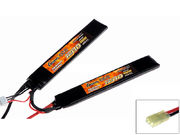 Gens ace 1200mAh 7.4V 20C 2S1P Saddle Lipo Pack for Airsoft