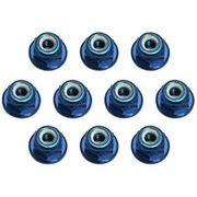 Team Associated Factory Team Blue 3mm Locknut (10)