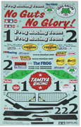 Tamiya Sticker for 58354