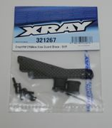Xray Graphite Chassis Side Guard Brace - Stiff (2)