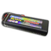 Team Silverback Mythos 3300mAh 35C/70C 7.4V Hard Tube Case Lipo Pack with Deans Plug