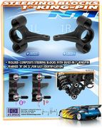 Xray Composite Steering Block 1° Kingpin Right