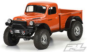 Pro-Line 1946 Dodge Power Wagon Clear Body - 313mm