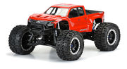 Pro-Line Pre-Cut 2019 Chevy Silverado Z71 Trail Boss Clear Body - X-Maxx