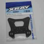 Xray XB8 Graphite Rear Shock Tower 4.0mm