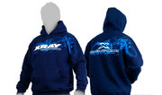 Xray Sweater Hooded - Blue (Xxxl)