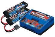 Traxxas Charger Dual iD & 2xBattery 7,4V 7600mAh Combo