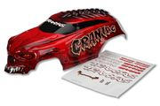 Traxxas Craniac Painted Body - Red