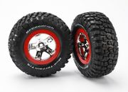 Tires & Wheels, BFGoodrich/SCT, 4WD/2WD Rear (2) [TRA-5867]