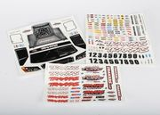 Traxxas Decal sheet Slash 4x4
