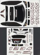 Traxxas Decal Sheets 1/16 Rally