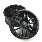 Traxxas Wheels 1:16 Black (2)
