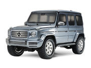 Tamiya 1/10 Mercedes-Benz G 500 - Bright Gun Metal - CC-02 - Crawler Kit