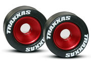 Traxxas Mounted Wheelie Bar Tires/Wheels