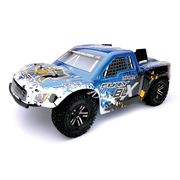 ARRMA Fury 2WD BLX 1/10 Shourt Course RTR Blue (w/o Battery)  AR102543