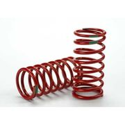 Traxxas Shock Springs GTR Red (3.5 Rate Green) (2)