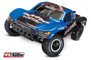 Traxxas Slash 1:10 RTR 2WD Short-Course Truck On-Board Audio - Äänimoduulilla - Sininen