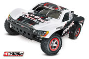 Traxxas Slash 1:10 Scale RTR Electric 2WD Short-Course Truck With On-Board Audio - White