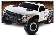 Traxxas Ford F-150 SVT Raptor 2WD TQi RTR On Board Audio - Valkoinen