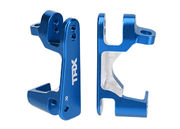 Traxxas Caster Blocks Alu. Slash 4x4 - Blue (2)