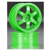 Traxxas Wheels, Volk Racing TE37 green (2)