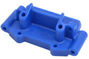 RPM Front Bulkhead for most Traxxas 1:10 scale 2wd Vehicles - Blue
