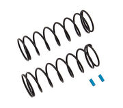 Team Associated Front Springs V2 - Blue - 5.5 lb/in L70 8.75T 1.6D (2)