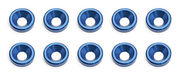 Team Associated FT Blue Countersunk Washer (10)