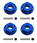 Team Associated Aluminum Wheel Hexes For SC10 4x4 (4)