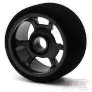 BSR Front Wheels & Foam Tires 1:12 Magenta (2)