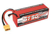 Team Corally Sport Racing 50C LiPo Battery 6750mAh 14.8V Stick 4S Hard Wire XT90