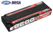 Team Corally Voltax 120C LiPo Battery 6200mAh 7.4V LCG Stick 2S 4mm Bullit