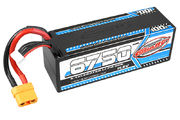 Team Corally X-Celerated 100C LiPo Battery 6750 mAh 14.8V Stick 4S Hard Wire XT90
