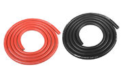 Team Corally Ultra V+ Silicone Wire Super Flexible Black and Red 10AWG 2683 / 0.05 Strands OD› 5.5mm 2x 1m