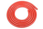 Team Corally Ultra V+ Silicone Wire Super Flexible Red 12AWG 1731 / 0.05 Strands OD› 4.5mm 1m
