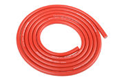 Team Corally Ultra V+ Silicone Wire Super Flexible Red 14AWG 1018 / 0.05 Strands OD› 3.5mm 1m