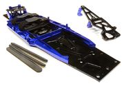 Integy Billet Machined Complete LCG Chassis Conversion Kit for Traxxas 1/10 Slash 2WD