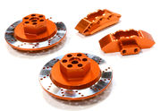 Integy Realistic Alloy Machined Brake Hex Hub Set For Hpi 1/10