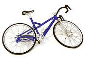 Integy Realistic Alloy Machined Road Bicycle For 1/10 Size R/C Model