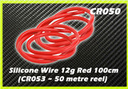 CORE RC Silicone Wire 12g - Red 1m